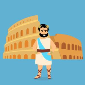 Logotipo de grupo de Derecho Romano